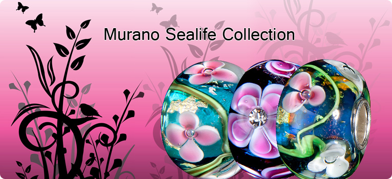 Sealife Collection Murano Beads